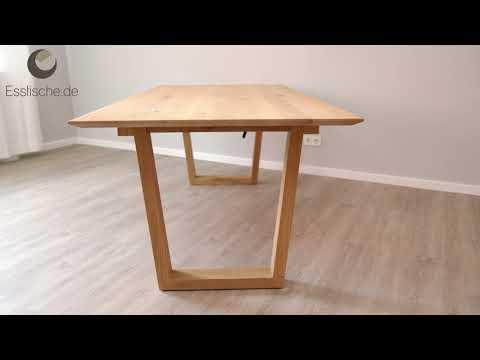 arica esstisch ausziehbar hohe zarge nach ma bis 300 cm l nge bis 130 cm breite. Black Bedroom Furniture Sets. Home Design Ideas