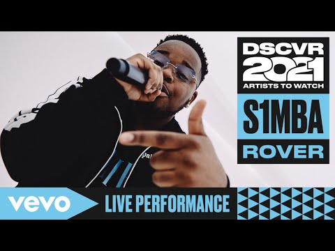 S1mba - Rover (Live)   Vevo DSCVR Artists to Watch 2021