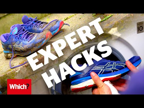 Can you clean trainers in a washing machine without ruining them?