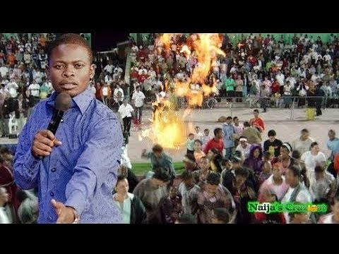 Fire Falls From Heaven To Consume Charms Live In Church Prophet Shepherd Bushiri Major 1
