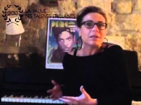 La Palme des Talents Etudiants - Jury n°6 - Jasmine Roy
