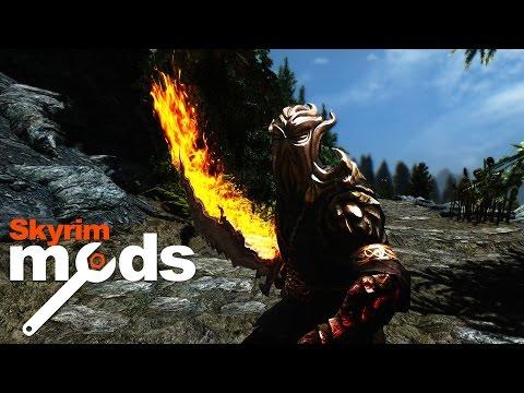 Flaming Swords of Scotland - Top 5 Skyrim Mods of the Week