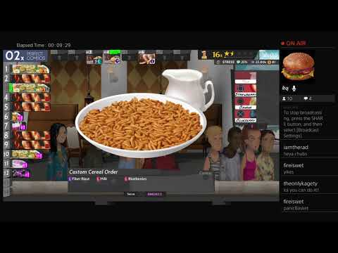 Cook, Serve, Delicious! 2!! On PS4 (Dev Stream #3)