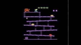 Atari 2600 Longplay [014] Donkey Kong