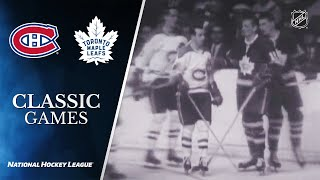 NHL Classic Games: 1967 Stanley Cup Final, Gm6: Maple Leafs vs. Canadiens by NHL
