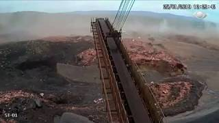 Moment of Brazil dam collapse caught on camera