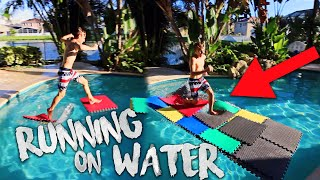 COVERING MY POOL WITH MATS AND RUNNING ON TOP!Make sure to subscribe for more awesome videos!Other Nicks Channel: https://www.youtube.com/channel/UCT-Nc84xuhKvuediFhvl65ANick & Nick covering the pool with puzzle yoga mats and trying as hard as we can to somehow run across!My Social MediaInstagram: https://www.instagram.com/nicktweston/Twitter: https://twitter.com/nicktwestonSnapChat: nicktwestonNick Weston
