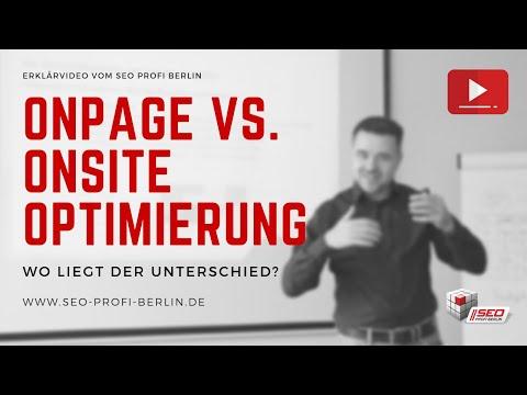 OnPage- vs. OnSite-SEO - Wo liegt der Unterschied? | Erklärung vom SEO Profi Berlin