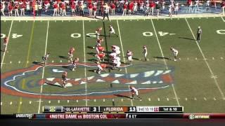 Jelani Jenkins vs Louisiana-Lafayette (2012)