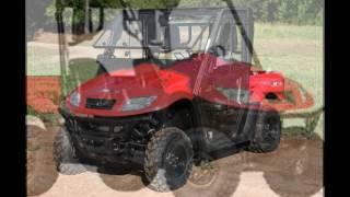 8. 2016 Kymco UXV 500i G Turf Red