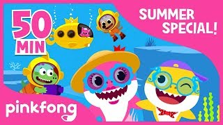 Video Baby Shark Dance and more   Summer Song Compilation   Kids Songs   Pinkfong Songs for Children MP3, 3GP, MP4, WEBM, AVI, FLV Agustus 2018