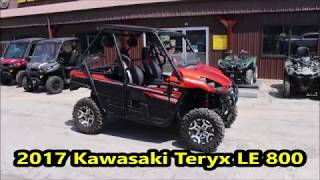 9. 2017 Kawasaki Teryx LE 800