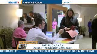America's Forum | Pat Buchanan Discusses The Border Crisis