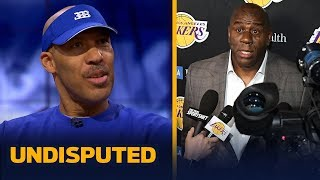 LaVar Ball on Magic leaving Lakers, Lonzo's future & being right on Walton firing | NBA | UNDISPUTED