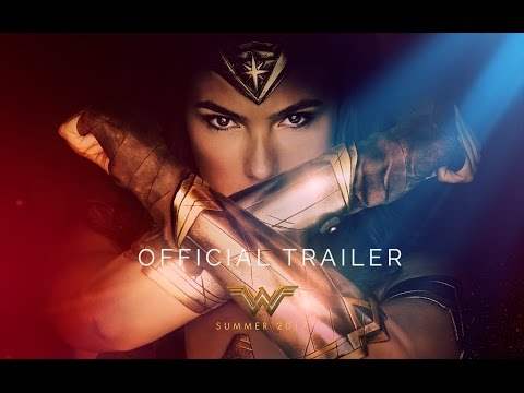 Wonder Woman movie trailers - makeup for Gal Gadot