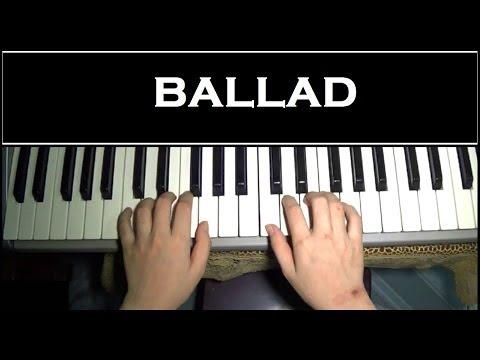 Hướng dẫn đệm hát Ballad đơn giản - Piano Tutorial