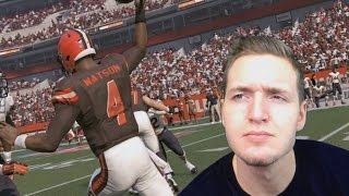 WHAT IF THE BROWNS DRAFT DESHAUN WATSON? MADDEN NFL 17