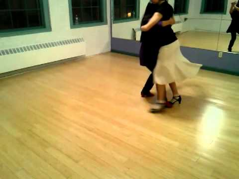 Tango lessons with Shiwa Noh & Antonia march, 2014