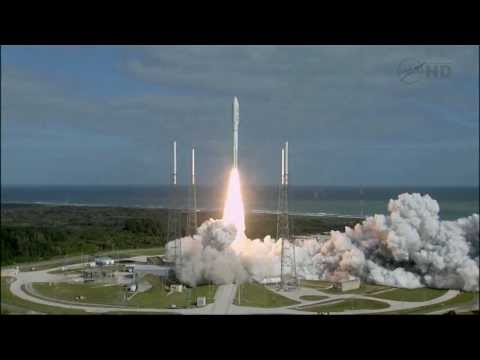 Launch - Atlas V roars off the launch pad sending NASA's next Mars rover toward the Red Planet.