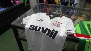 Minha visita a loja Camisa Futebol Clube, que fica em Curitiba, loja que sempre que eu tenho um tempo procuro dar uma...