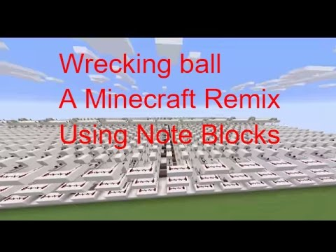 minecraft how to use a note block