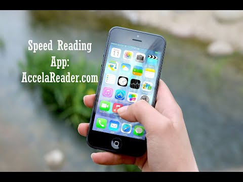 How to Speed Read with the Free AccelaReader App