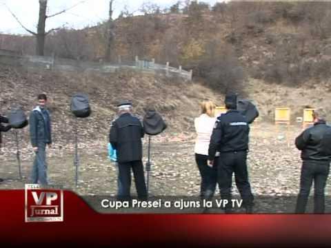 Cupa Presei a ajuns la VP TV