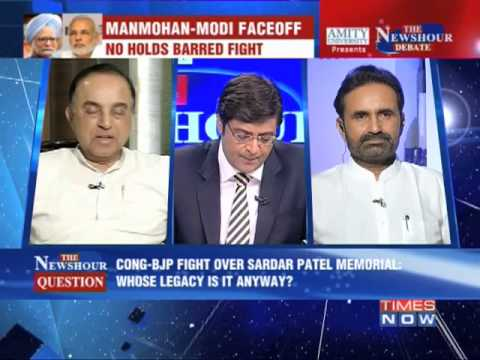 newshour - In a debate moderated by TIMES NOW's Editor-in-Chief Arnab Goswami, panelists -- Subramanian Swamy, Leader, BJP; Ram Madhav, Spokesperson & National Executiv...
