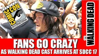 THE WALKING DEAD CAST ARRIVES AT SAN DIEGO COMIC CON 2017 - Norman Reedus, Jeffrey Dean Morgan