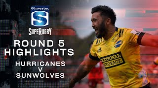 Hurricanes v Sunwolves Rd.5 2020 Super rugby video highlights | Super Rugby Video Highlights