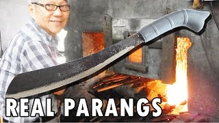 Bidor Malaysia  city pictures gallery : How blacksmiths make parang machetes in Malaysia