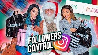 We Let our Instagram Followers Control our Christmas Shopping...Niki and Gabi by Niki and Gabi