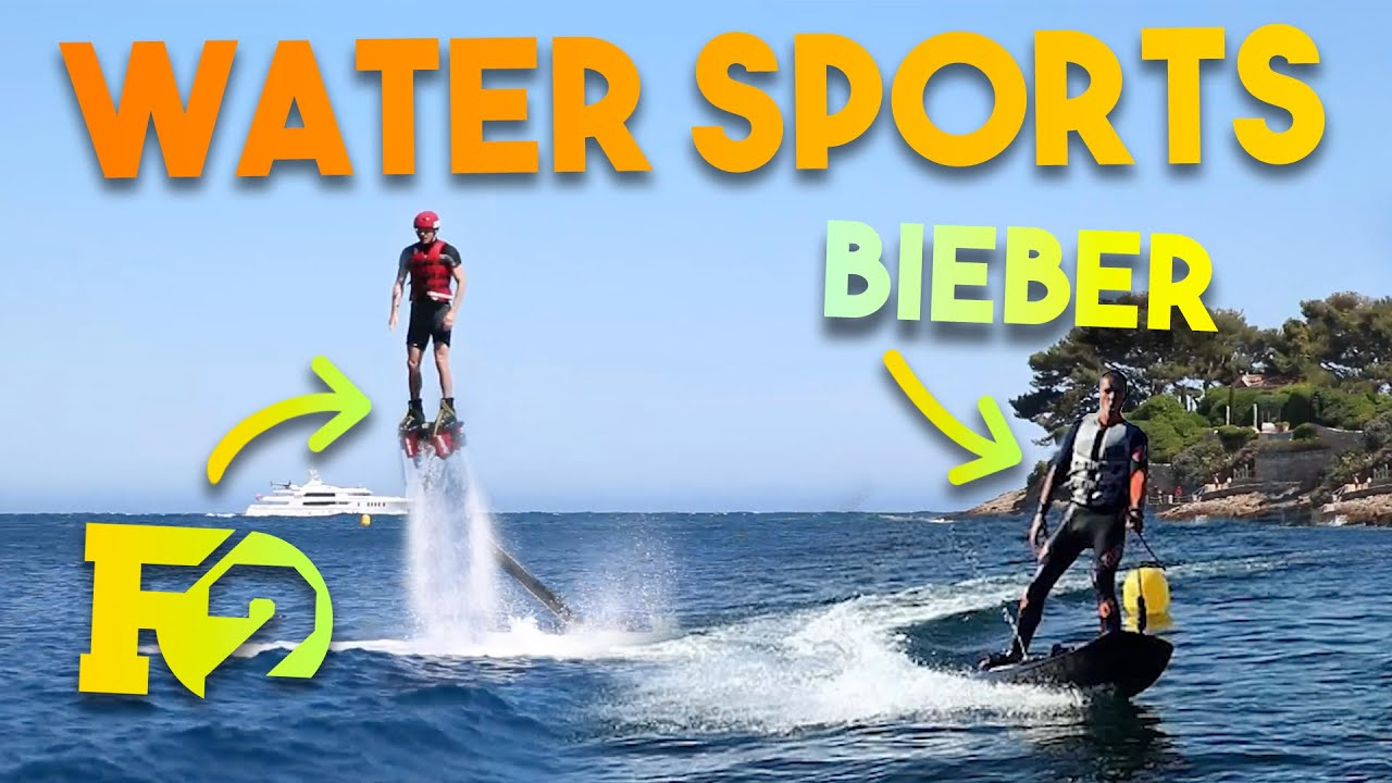 WATER SPORTS WITH HAMILTON & BIEBER + RASCAL GIVEAWAY!!!