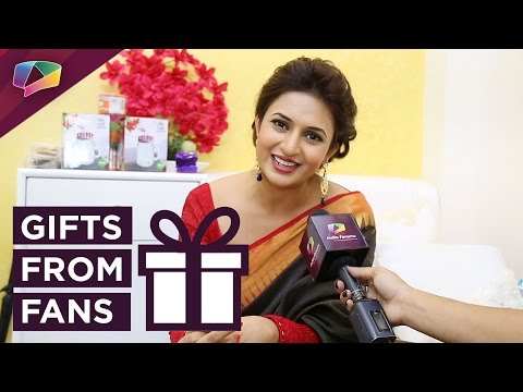 Mrs Divyanka Tripathi Dahiya receives gifts from her fans