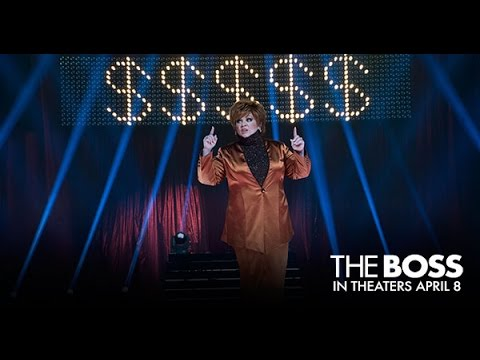 The Boss - In Theaters April 8 (TV Spot 9) (HD) видео