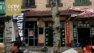 Yuncheng China  city photos : Footage: aftershocks felt in Yuncheng, China's Shanxi Province, after M4.4 earthquake