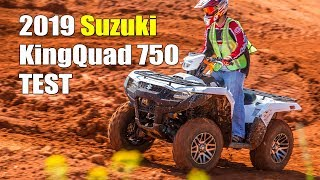 6. 2019 Suzuki KingQuad 750 Test Review