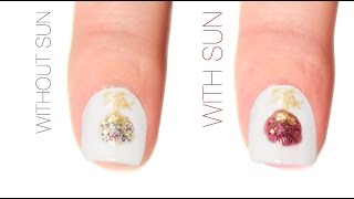 Ornament Color-Changing Nail Art Design