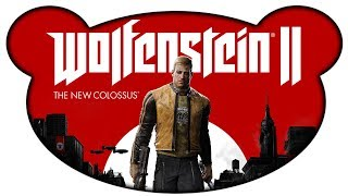 Wolfenstein 2 The New Colossus PREVIEW #01 - BJ lebt noch?! (Let's Play Preview Gameplay Deutsch)