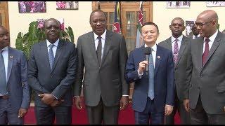 President Uhuru Kenyatta has held a meeting with Chinese billionaire entrepreneur Jack Ma to discuss ways of empowering the...