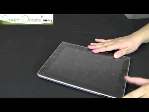 iPad Screen Protector Installation Instructions from Green Onions Supply (small update)