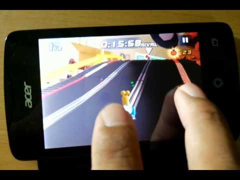 เล่น Turbo Racing League บน Acer Liquid Z3