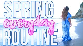 GET READY WITH ME | Hair, Makeup + Outfit For Spring!! by MissRemiAshten