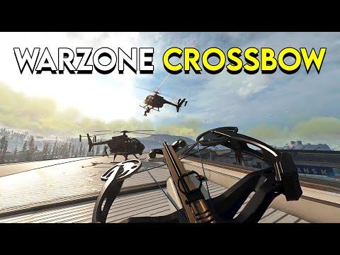 Crossbow-ing my Way Through Warzone! видео