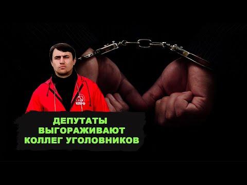 Депутаты выгораживали своих коллег уголовников из «Единой России»