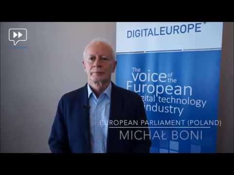Watch 'Digital Single Market | MEP Michał BONI, European Parliament'