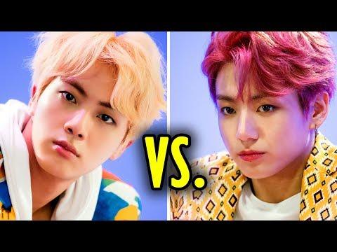 BTS Maknae Line VS. Hyungs