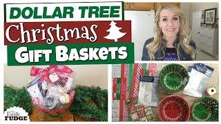 DOLLAR TREE DIY CHRISTMAS GIFT BASKETS 🎄  | Budget Christmas Gift Ideas