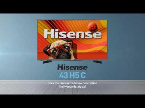 Hisense 43H5C H5 series full HD smart TV // Full Specs Review  #Hisense