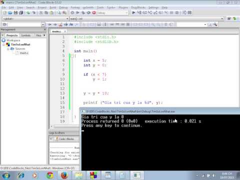 [Lập trình C cơ bản] Hello World, làm quen IDE Code::Blocks